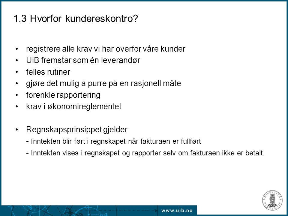 2.9 forts Praktisk trening - Kursoppgave 2 Ditt institutt har fått et forskningsoppdrag fra StatoilHydro.