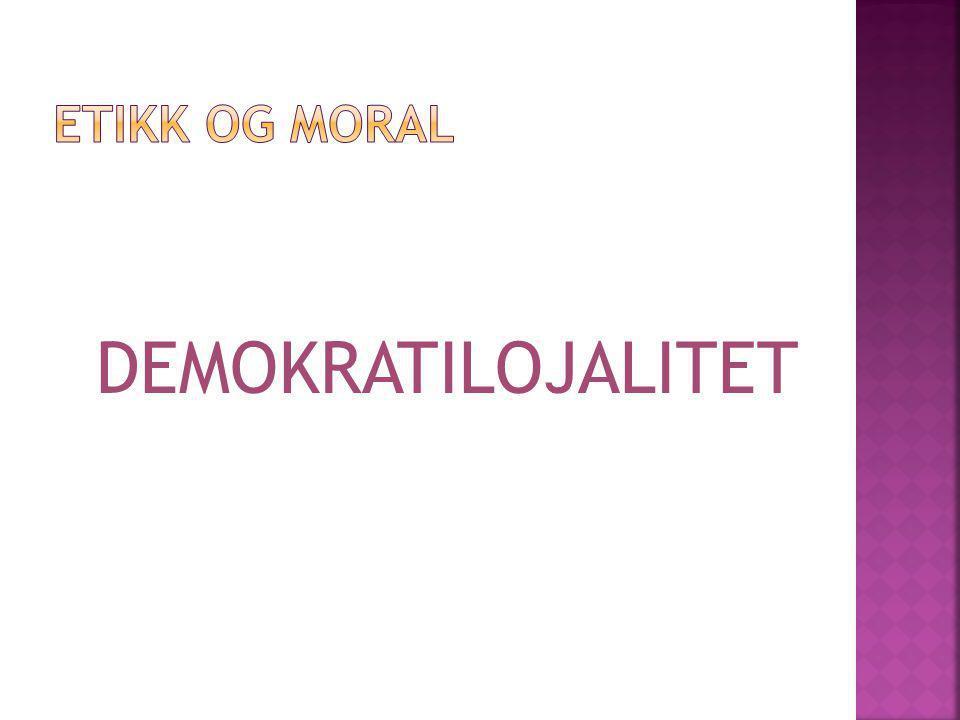 DEMOKRATILOJALITET