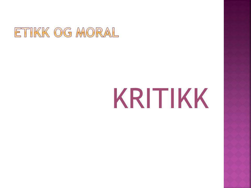 KRITIKK