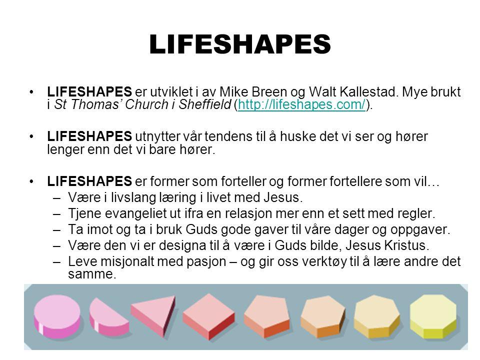 LIFESHAPES LIFESHAPES er utviklet i av Mike Breen og Walt Kallestad.