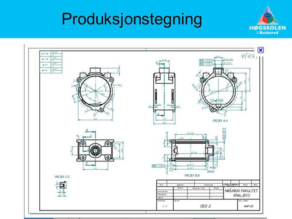Produksjonstegning