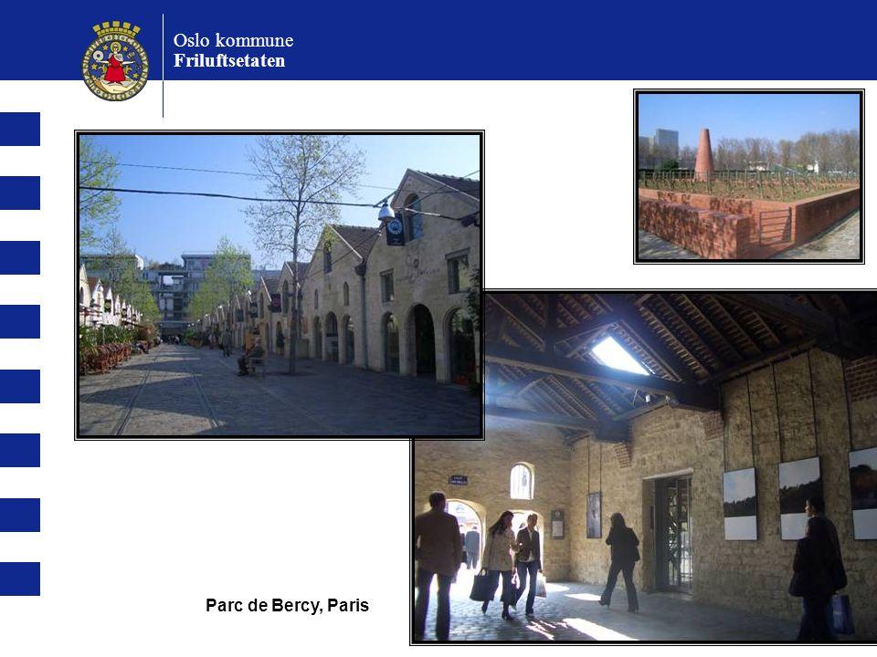 Oslo kommune Friluftsetaten Parc de Bercy, Paris