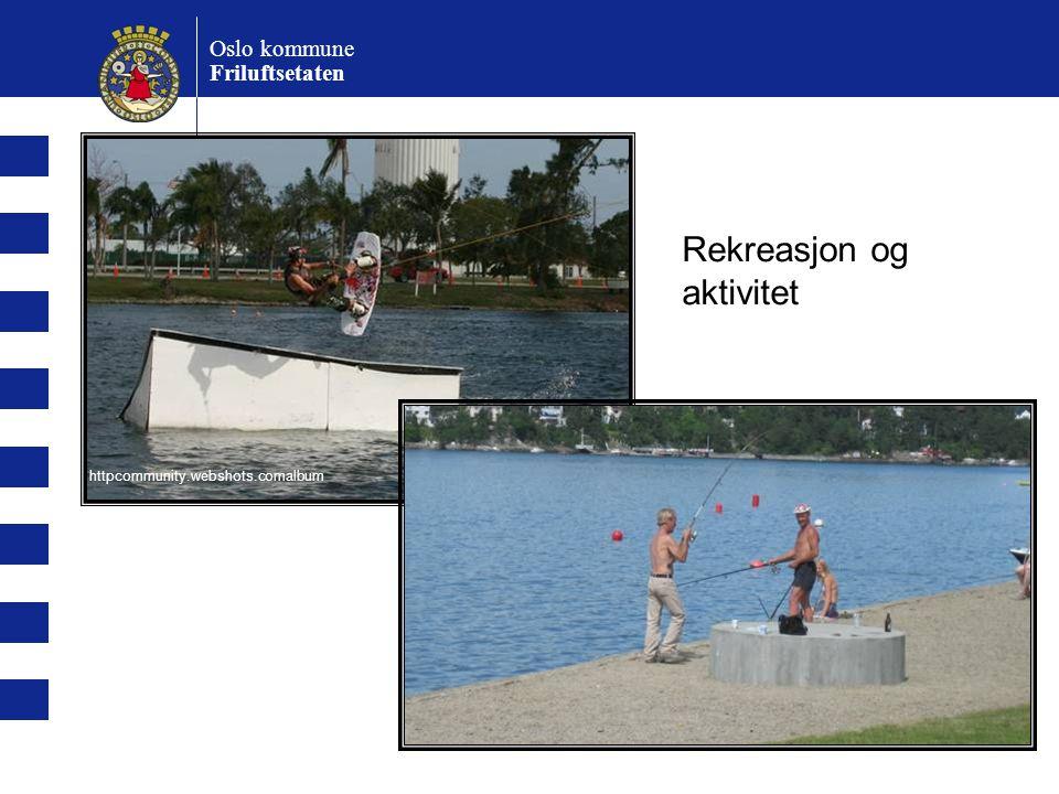 Oslo kommune Friluftsetaten Rekreasjon og aktivitet httpcommunity.webshots.comalbum