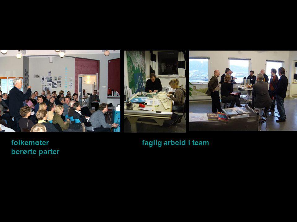 folkemøter faglig arbeid i team berørte parter