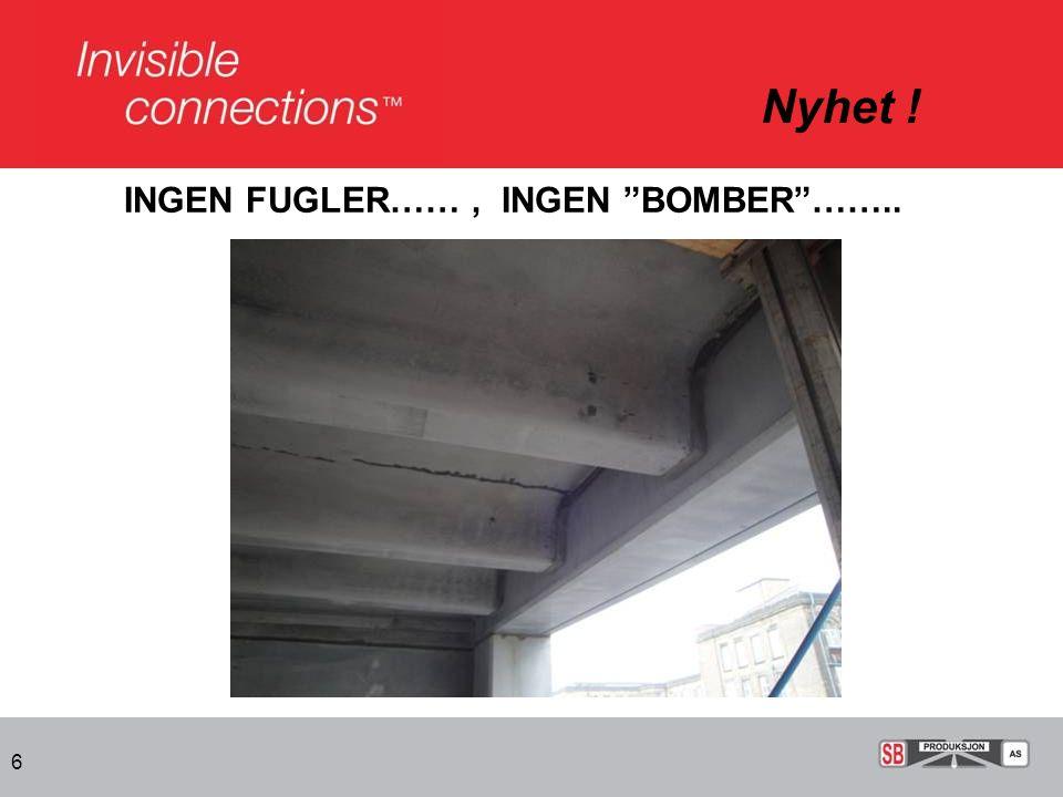 """6 INGEN FUGLER……, INGEN """"BOMBER""""…….."""