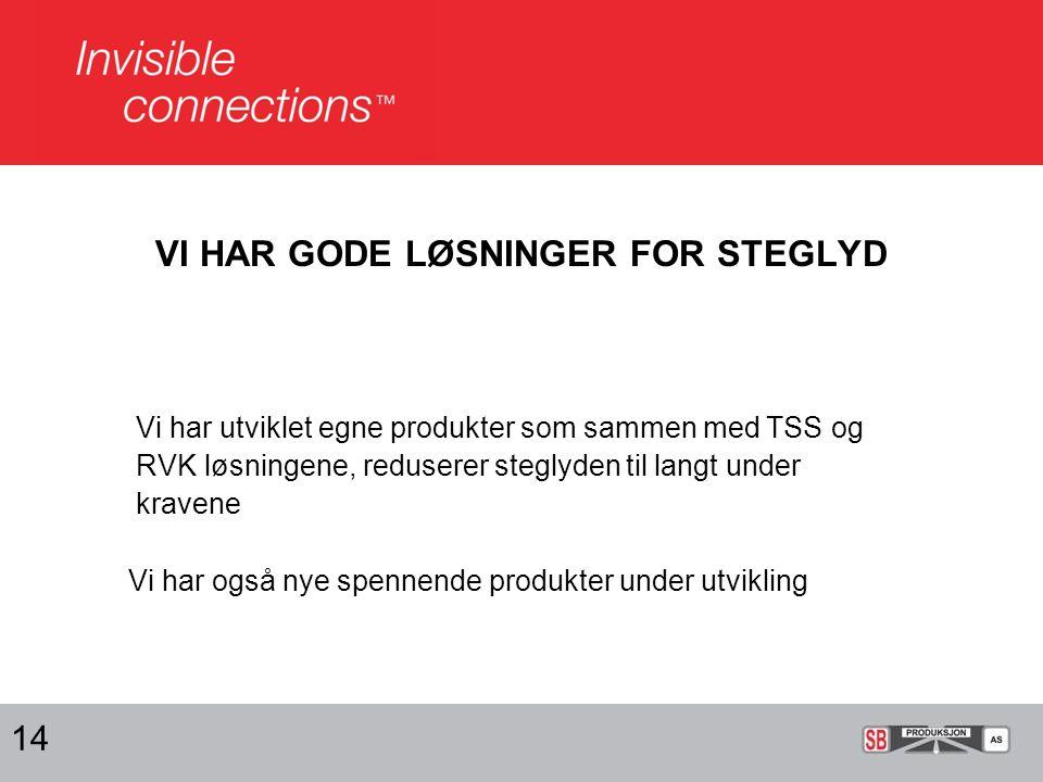 SVALGANGER HAR TILSVARENDE LØSNINGER 15