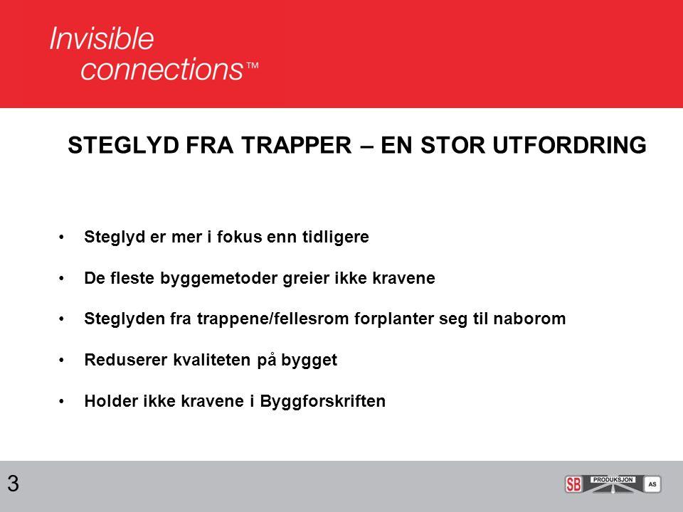 KRAVENE TIL STEGLYD FRA INNVENDIGE BETONGTRAPPER 4