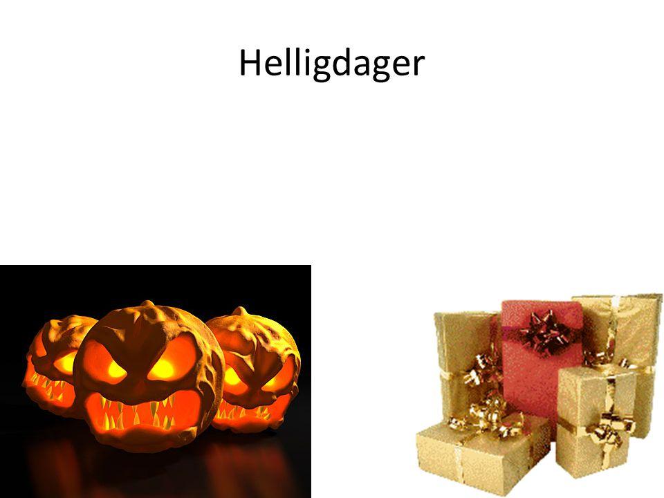 Helligdager