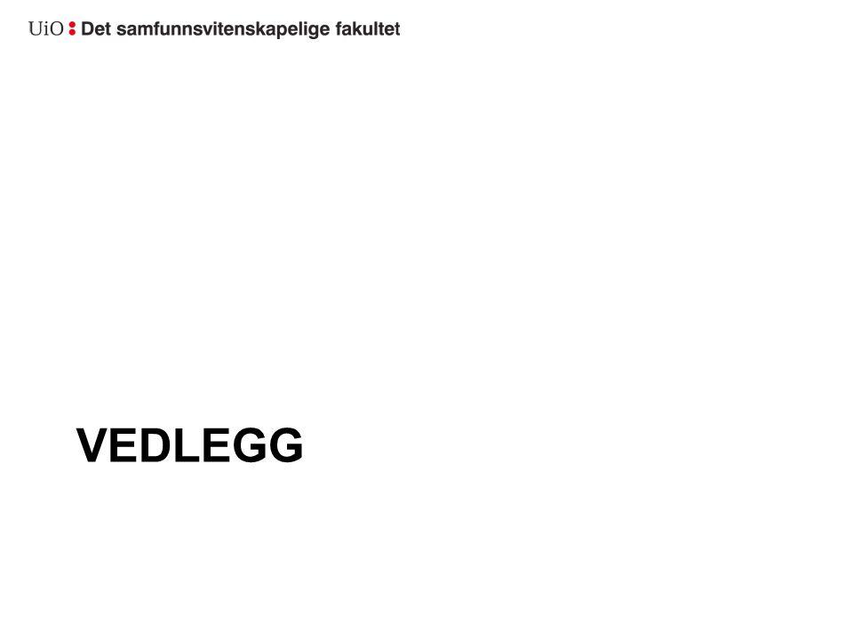 VEDLEGG