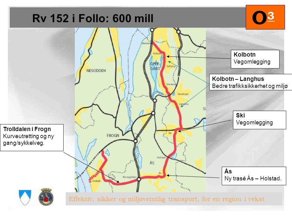 Fornebubane: 600 mill. O3O3 Effektiv, sikker og miljøvennlig transport, for en region i vekst