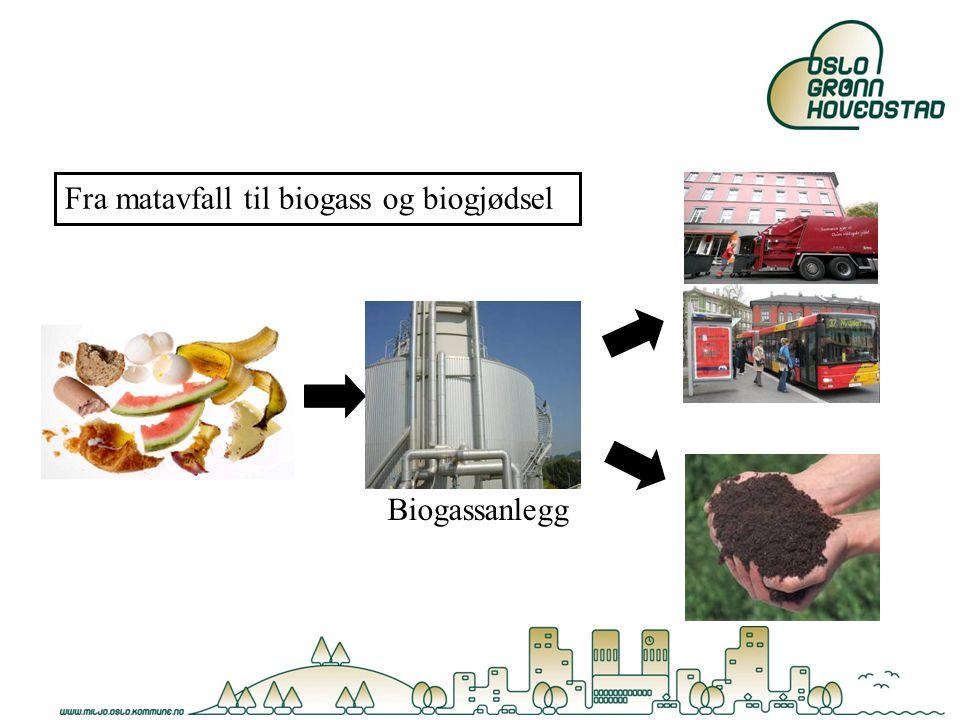 Biogassanlegg Fra matavfall til biogass og biogjødsel