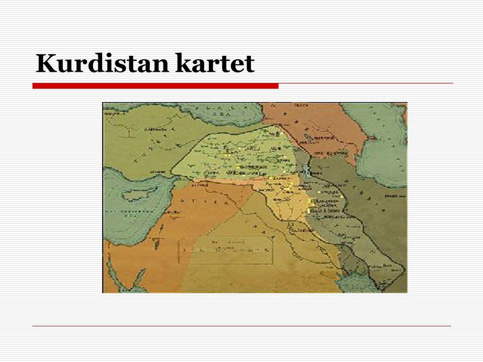 Kurdistan kartet