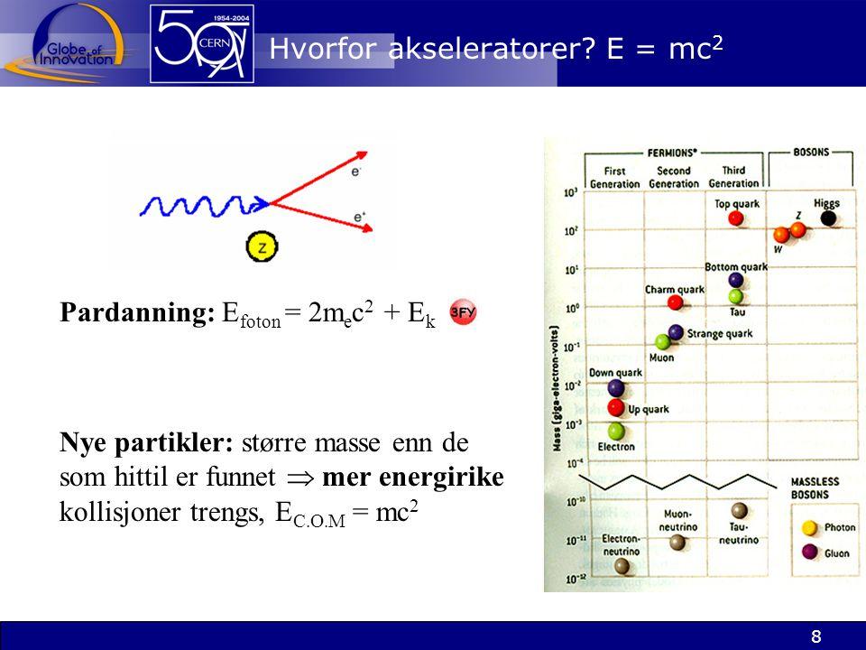9 Krefter: utveksling av elementærpartikler! e-