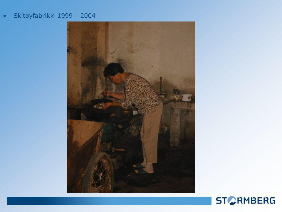 Skitøyfabrikk 1999 - 2004
