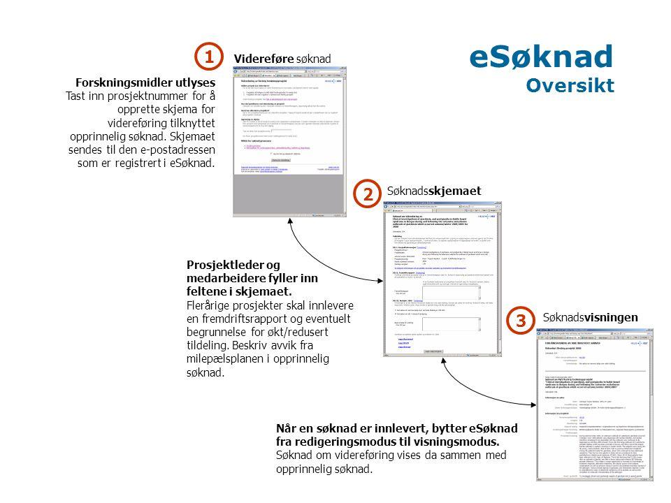 Opprette skjema for videreføring 1.Gå inn på utlysningsteksten på helseregionens nettsider.