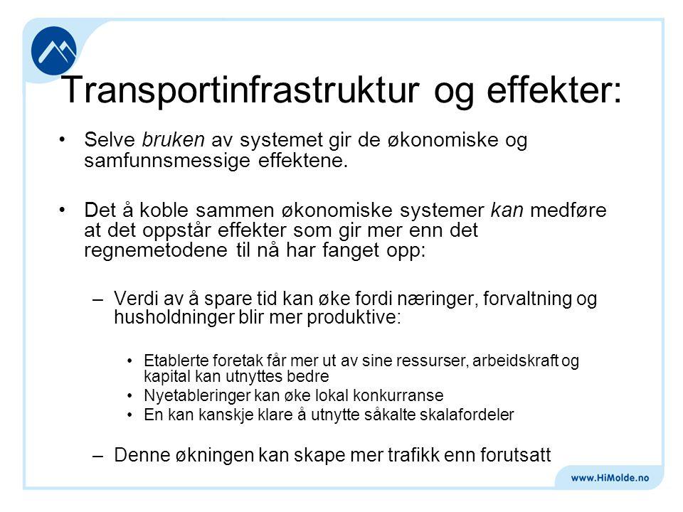 Større bo- og arbeidsmarkeder, noen mekanismer:
