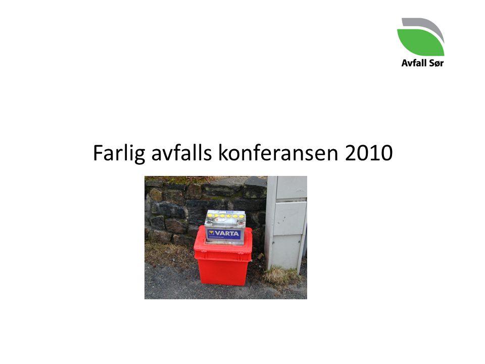 Farlig avfalls konferansen 2010