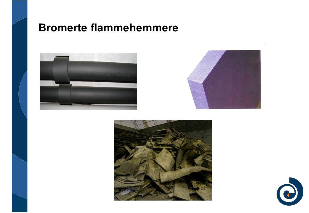Bromerte flammehemmere