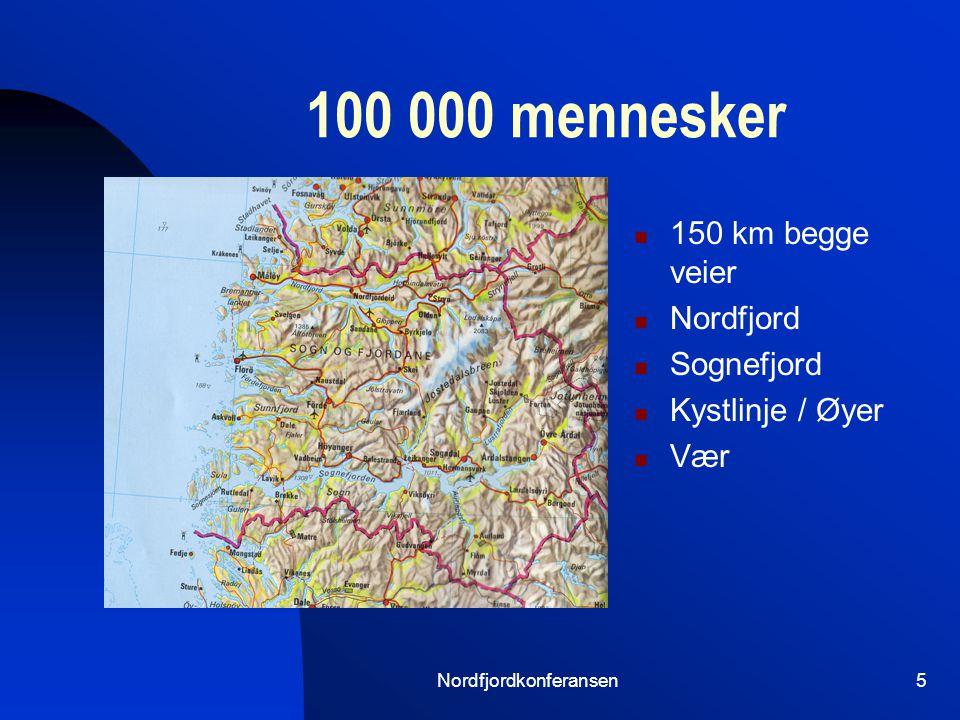 Nordfjordkonferansen4 Viktig Forsvarlig og god behandling Tilgjengelighet- også når det haster Ventetid Mulighet for besøk