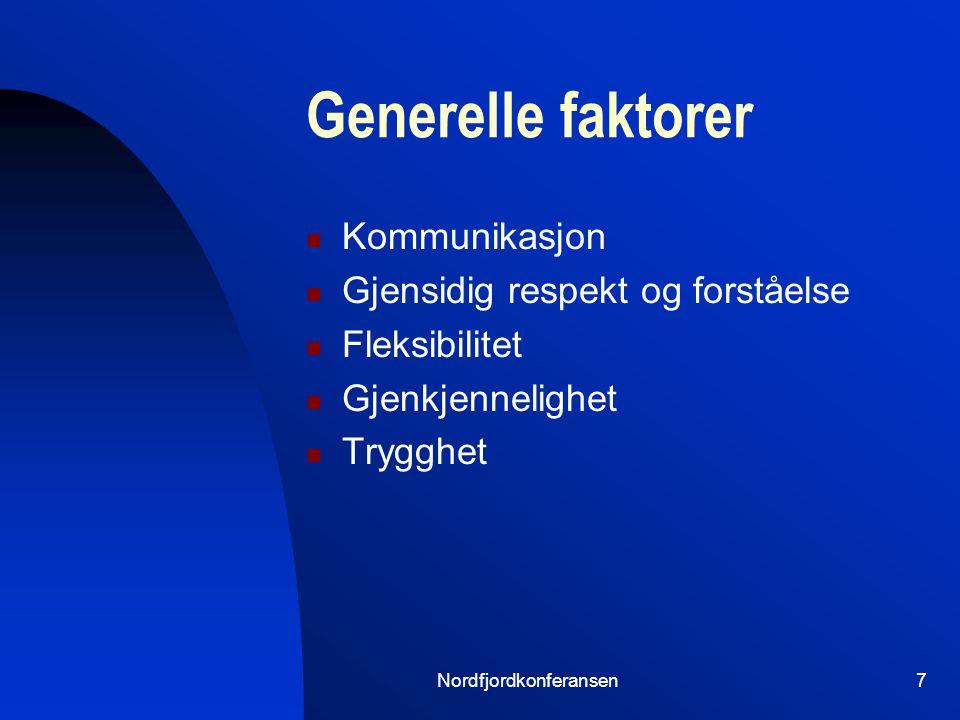 Nordfjordkonferansen6 Nordfjord Sjukehus Geografisk sentralt i Nordfjord Primærsykehus for 30-40 000 Nåværende funksjoner vitale Føde/gyn.