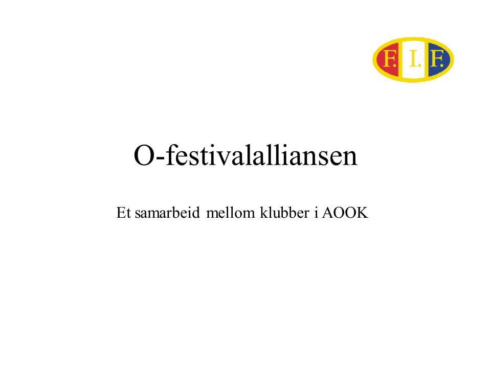 O-festivalalliansen Et samarbeid mellom klubber i AOOK