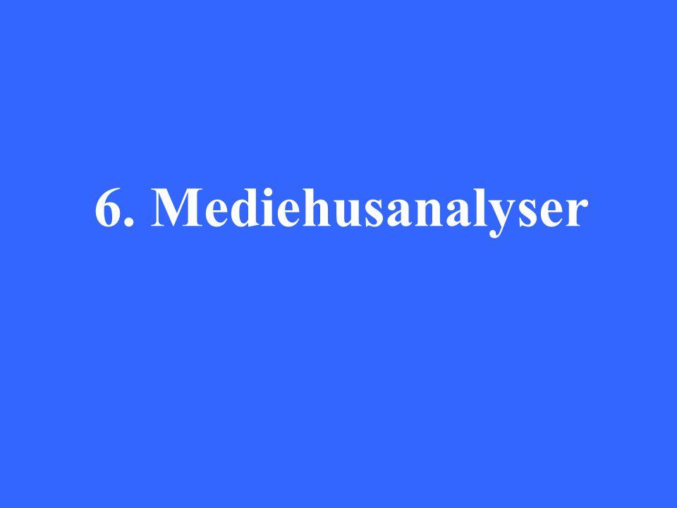 6. Mediehusanalyser
