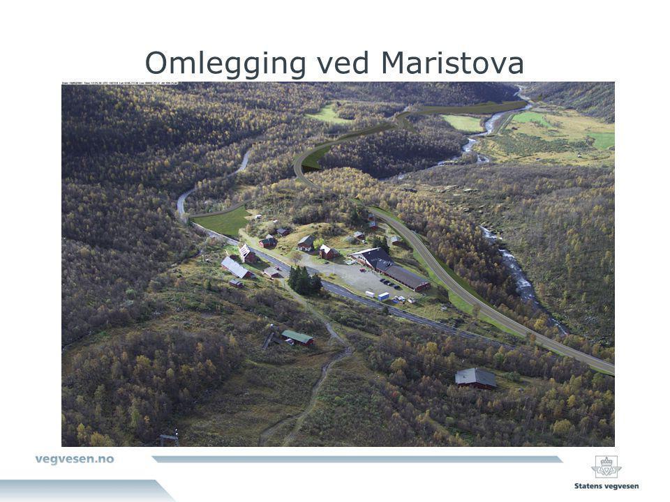 Omlegging ved Maristova