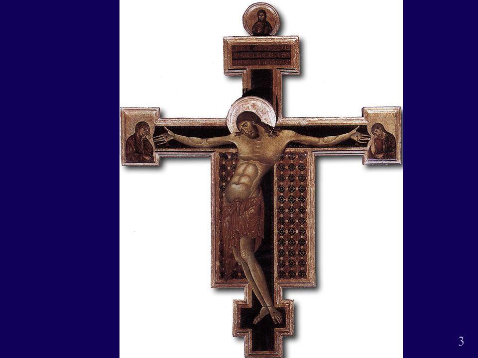 Jomfruen med jesusbarnet2 14 Cimabue den tronende jomfru Med Jesusbarnet Tempera