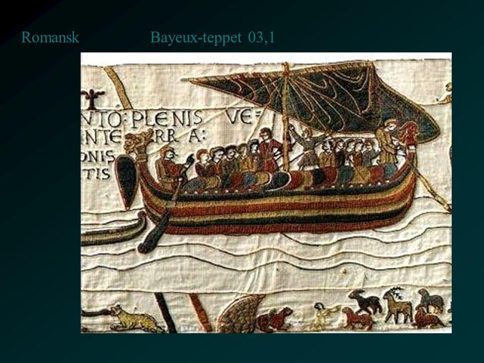 Bayeux-teppet 03,1 Romansk