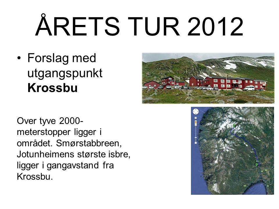Forslag ÅRETS TUR 2012 ….for menn som vil no` (igjen...)