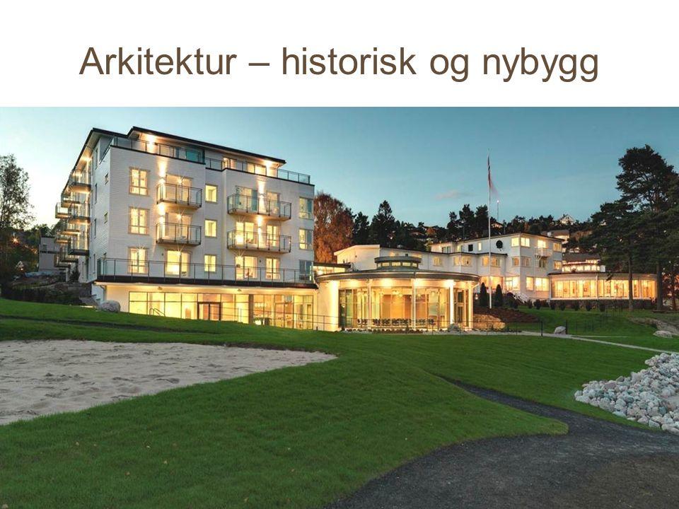 Arkitektur – historisk og nybygg