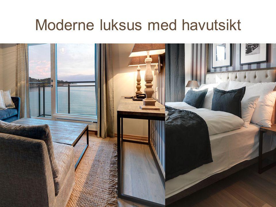 Moderne luksus med havutsikt