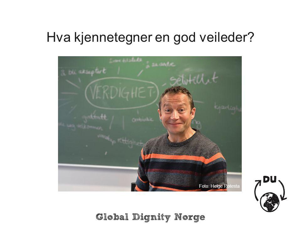 Hva kjennetegner en god veileder? Foto: Helge Potesta