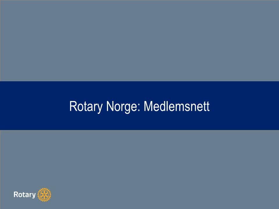 Rotary Norge: Medlemsnett