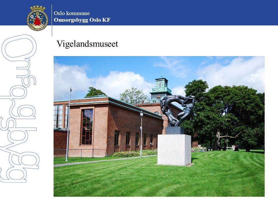 Oslo kommune Omsorgsbygg Oslo KF Vigelandsmuseet