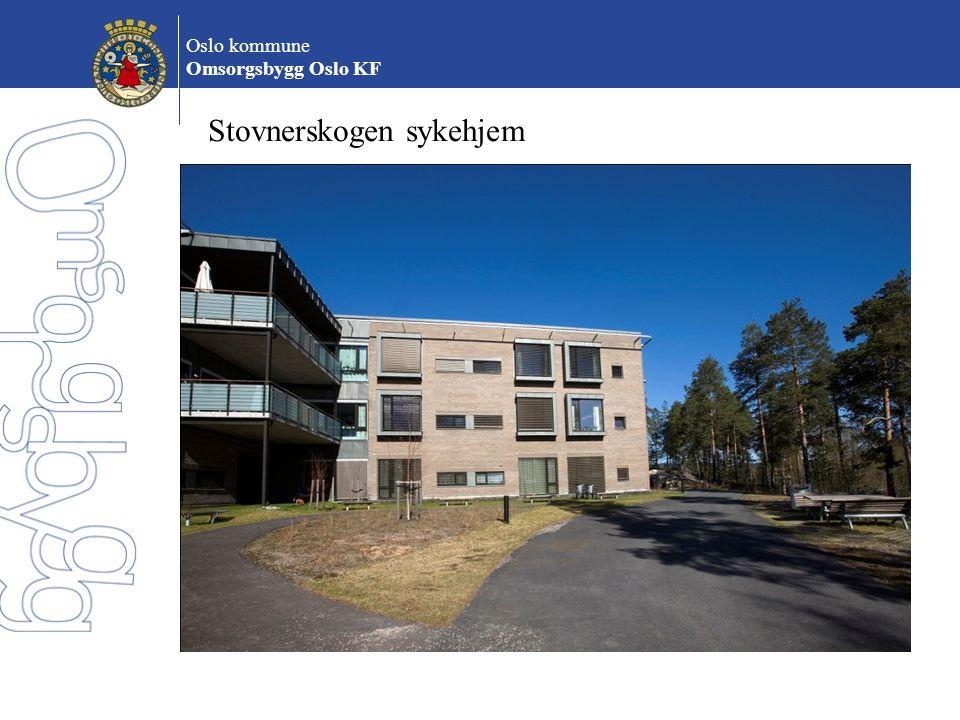 Oslo kommune Omsorgsbygg Oslo KF Stovnerskogen sykehjem