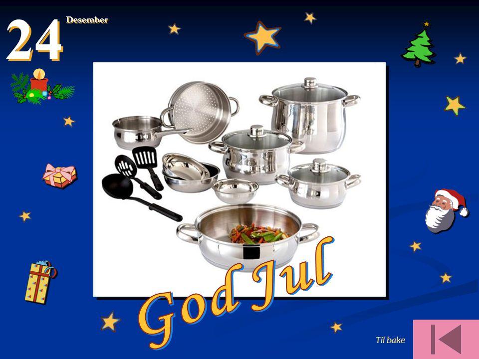 Til bake 24 Desember