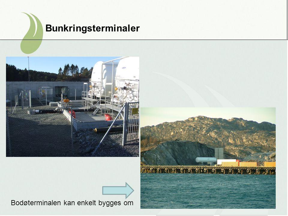 Bunkringsterminaler Bodøterminalen kan enkelt bygges om
