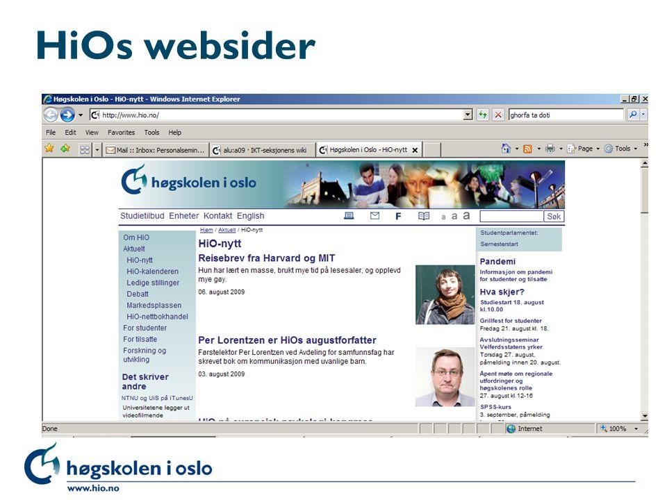 HiOs websider