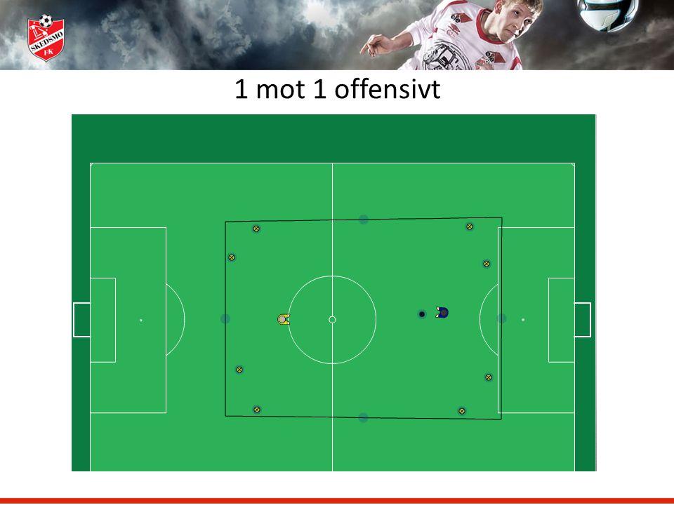 1 mot 1 offensivt