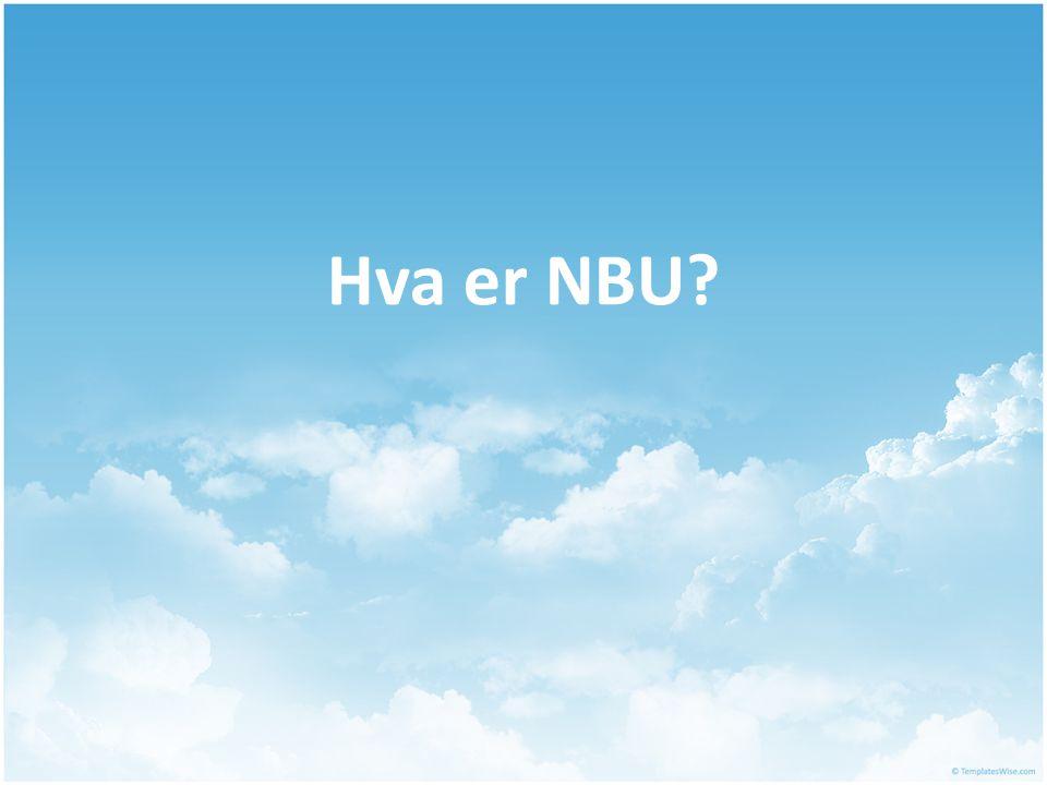 Hva er NBU