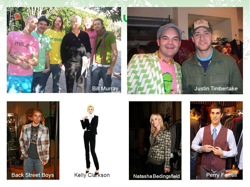 Bill MurrayJustin Timberlake Kelly ClarksonBack Street Boys Natasha Bedingsfield Perry Ferrell