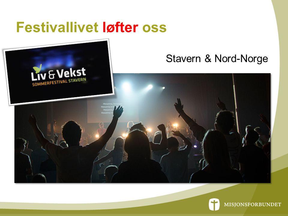 Festivallivet løfter oss Stavern & Nord-Norge