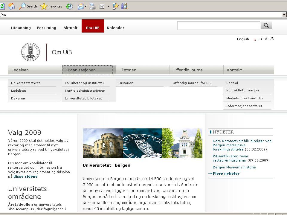 Nøkkeltall for UB Ansatte ~ 100 Årsverk ~ 92 Budsjett ~ 110 mill NOK Abonnementer ~ 19 000 tidsskrift (16 000)