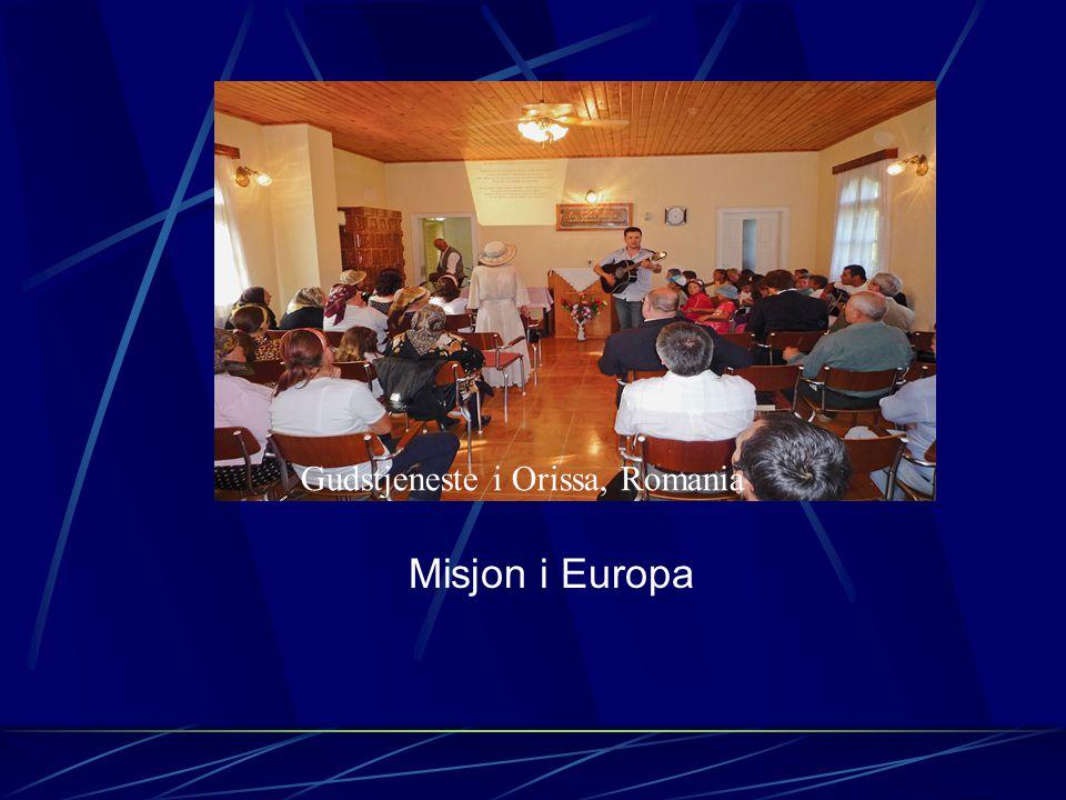Misjon i Europa Kunov leirsted,Polen