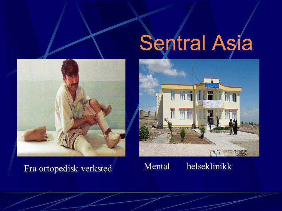 Sentral Asia Fra ortopedisk verksted Mental helseklinikk