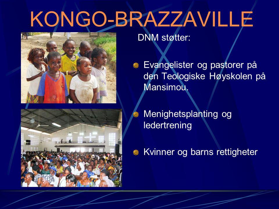 KONGO-BRAZZAVILLE Evangelister og pastorer på den Teologiske Høyskolen på Mansimou.
