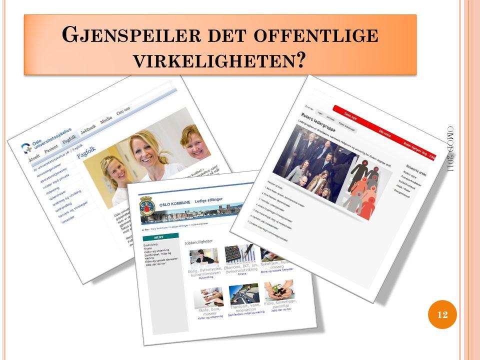 G JENSPEILER DET OFFENTLIGE VIRKELIGHETEN ? 12 OMOD 2011