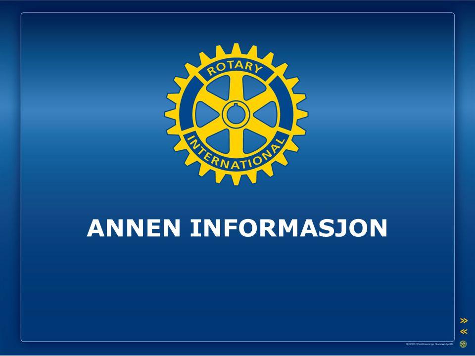 ANNEN INFORMASJON