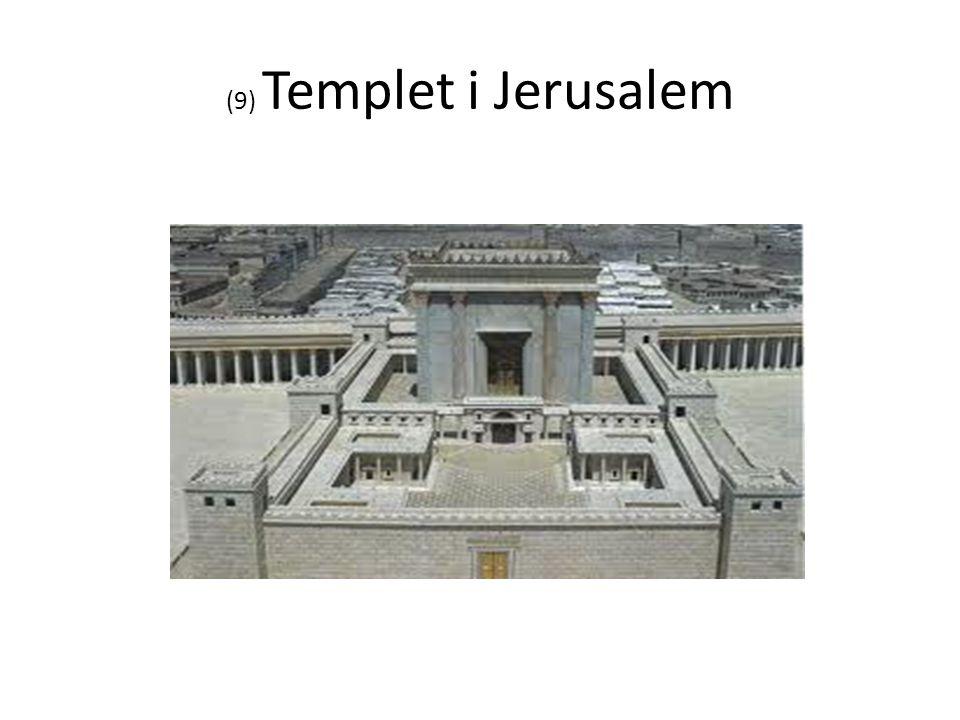 (9) Templet i Jerusalem